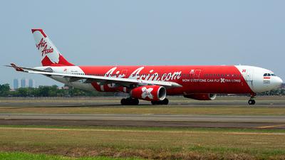 PK-XRC - Airbus A330-343 - Indonesia AirAsia X
