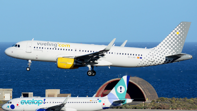 EC-LVU - Airbus A320-214 - Vueling Airlines