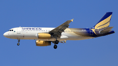 AP-BLM - Airbus A320-232 - Shaheen Air International