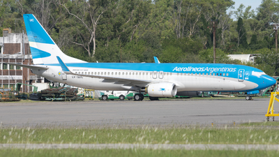 A picture of LVGUC - Boeing 7378SH - Aerolineas Argentinas - © Cris.Spotter.mg