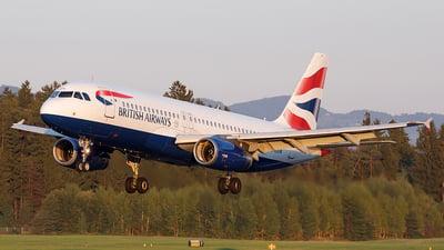 A picture of GEUUN - Airbus A320232 - British Airways - © Borut