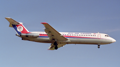 G-BJYM - British Aircraft Corporation BAC 1-11 Series 531FS - Dan-Air London