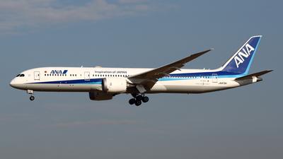 A picture of JA875A - Boeing 7879 Dreamliner - All Nippon Airways - © Yoshiharu Ozaki