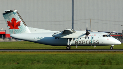 C-GKON - Bombardier Dash 8-102 - Air Canada Express (Jazz Aviation)