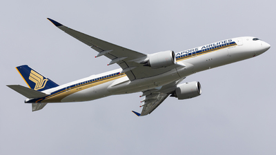 9V-SHU - Airbus A350-941 - Singapore Airlines