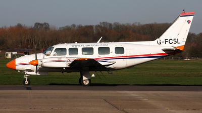 G-FCSL - Piper PA-31-350 Navajo Chieftain - Flight Calibration Services (FCS)