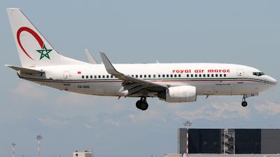 CN-RNQ - Boeing 737-7B6 - Royal Air Maroc (RAM)
