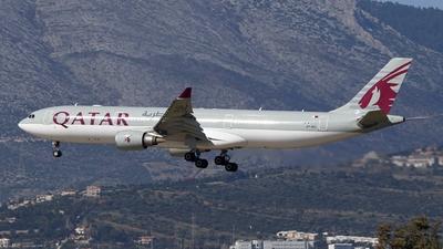 A picture of A7AEG - Airbus A330302 - Qatar Airways - © Stamatis Alipasalis