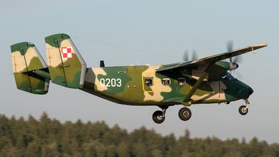 0203 - PZL-Mielec M-28TD Bryza - Poland - Air Force