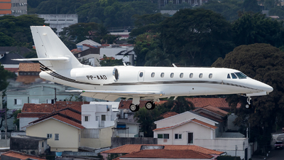 PP-AAD - Cessna 680 Citation Sovereign - Private