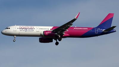 HA-LXA - Airbus A321-231 - Wizz Air