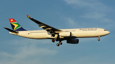 ZS-SXI - Airbus A330-343 - South African Airways