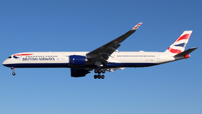 G-XWBC - Airbus A350-1041 - British Airways