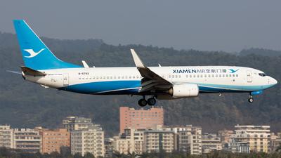 A picture of B5792 - Boeing 73785C - Xiamen Air - © Levine