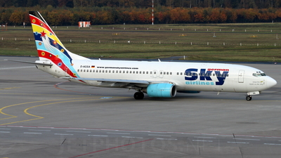 D-AGSA - Boeing 737-883 - German Sky Airlines