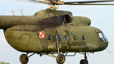 642 - Mil Mi-8T Hip - Poland - Army