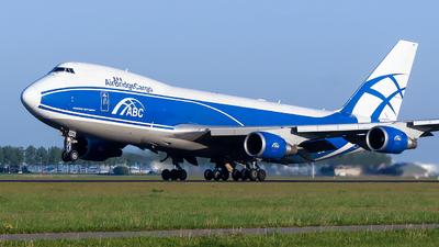 VQ-BHE - Boeing 747-4KZF(SCD) - Air Bridge Cargo