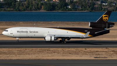 A picture of N259UP - McDonnell Douglas MD11F - UPS - © Jasper Kringen
