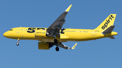 A picture of N913NK - Airbus A320271N - Spirit Airlines - © Yixin Chen