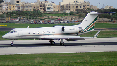 N407NS - Gulfstream G-IV(SP) - NetJets Middle East
