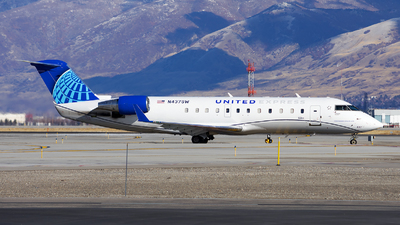 A picture of N437SW - Mitsubishi CRJ200LR - United Airlines - © Michael Rodeback