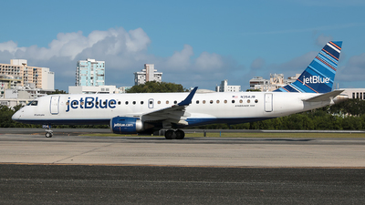 A picture of N354JB - Embraer E190AR - JetBlue Airways - © Angel Natal