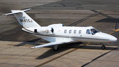 N487CJ - Cessna 525 Citation CJ1 - Private