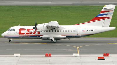 OK-KFP - ATR 42-500 - CSA Czech Airlines