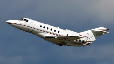 VP-BSX - Hawker Beechcraft 750 - Private