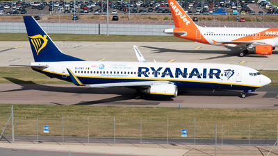 A picture of EIDWX - Boeing 7378AS - Ryanair - © Frankie A Said