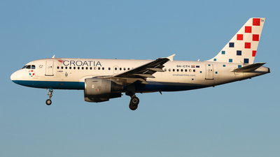A picture of 9ACTH - Airbus A319112 - Croatia Airlines - © BaszB