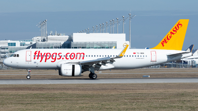 A picture of TCNBK - Airbus A320251N - Pegasus Airlines - © Thomas Ernst