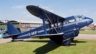 G-AKIF - De Havilland DH-89A Dragon Rapide - Private