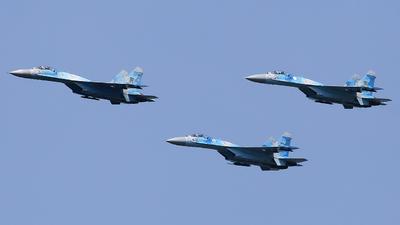 37 - Sukhoi Su-27P Flanker - Ukraine - Air Force