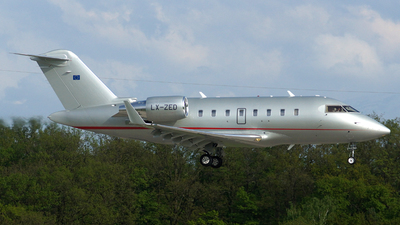 LX-ZED - Bombardier CL-600-2B16 Challenger 605 - Global Jet Luxembourg