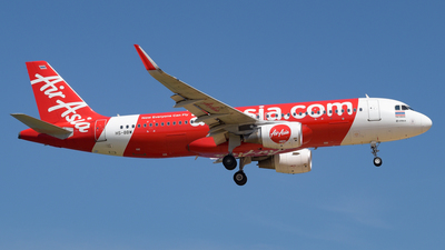 A picture of HSBBW - Airbus A320216 - AirAsia - © Alexander Listopad
