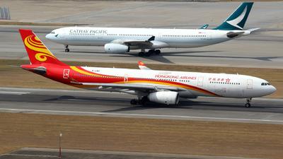 B-LNU - Airbus A330-343 - Hong Kong Airlines