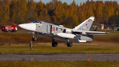 RF-93856 - Sukhoi Su-24MR Fencer - Russia - Air Force