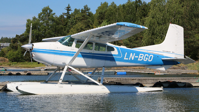LN-BGO - Cessna 185A Skywagon - Private
