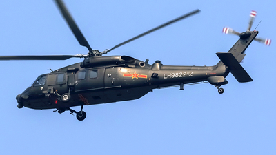 LH982212 - Harbin Z-20 - China - Army