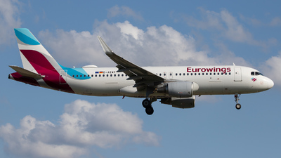 A picture of DAEWF - Airbus A320214 - Eurowings - © kevin.hackert