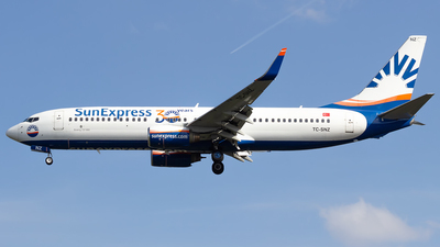 A picture of TCSNZ - Boeing 73786N - SunExpress - © Lars Jecker