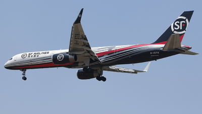 A picture of B1578 - Boeing 757204(PCF) - SF Airlines - © CrazyChan
