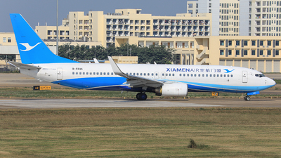 A picture of B5595 - Boeing 73786N - Xiamen Air - © Nishinomiya