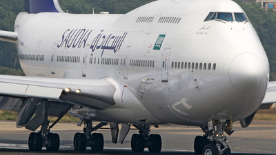 TF-AAK - Boeing 747-428 - Saudi Arabian Airlines (Air Atlanta Icelandic)