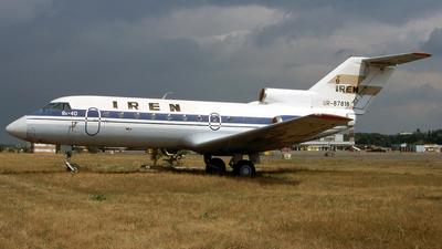 UR-87818 - Yakovlev Yak-40 - IREN Aviakompania