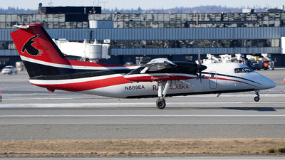 A picture of N889EA - De Havilland Canada Dash 8100 - [322] - © Sebastian Roxman