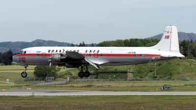 N151 - Douglas DC-6B - Braathens SAFE