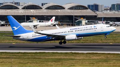 A picture of B1305 - Boeing 73785C - Xiamen Air - © Fei Yu