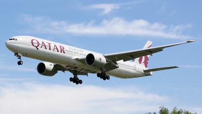 A7-BEF - Boeing 777-3DZER - Qatar Airways